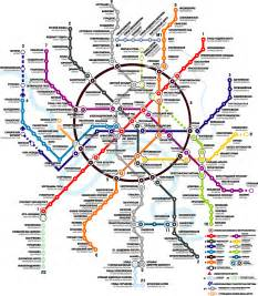 Moscow Subway Map moscow metro map