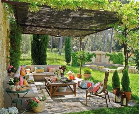 Picture Of refined french backyard garden decor ideas 27