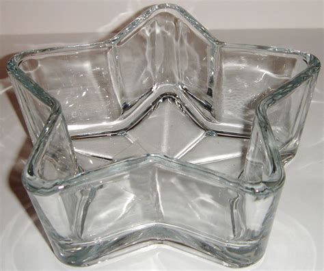 Shallow Vase by Clear Glass Shallow Shaped Vase Dish Pillar