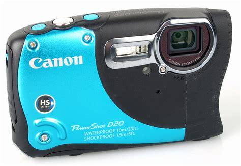 canon digital slr reviews canon powershot d20 digital review ephotozine