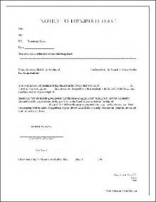 Notice Of Lease Termination by Termination Of Lease Form Free Printable Documents