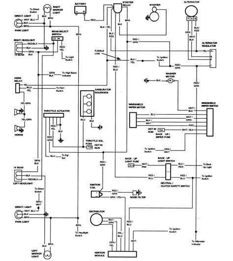 1979 chevy truck alternator wiring diagram get free image about wiring diagram