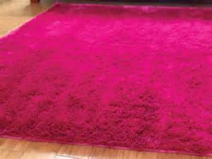 pink fluffy rug my room