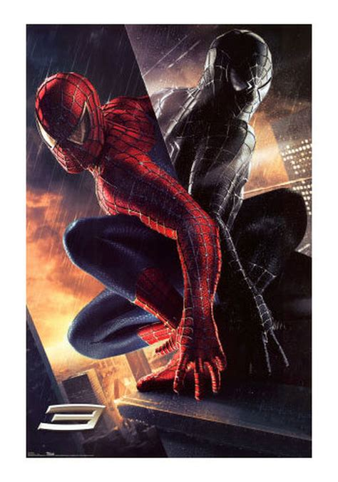 spiderman good  evil  poster home theater mart