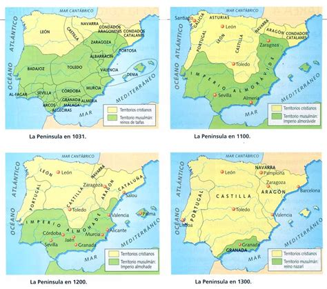 reconquista del reino de 8408176129 4 los reinos cristianos historia de espa 209 a