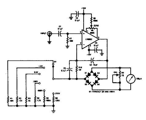 voltmeter in circuit diagram analog ac voltmeter circuit diagram efcaviation
