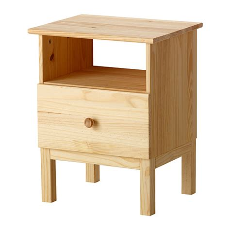 ikea wood tarva bedside table ikea