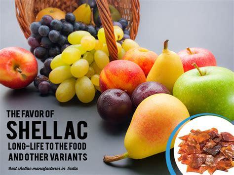 favor  shellac long life   food