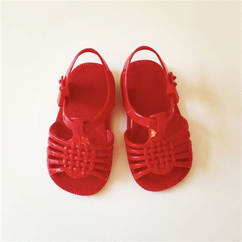 jelly shoes for baby 1970 s jelly sandals size 3 infant