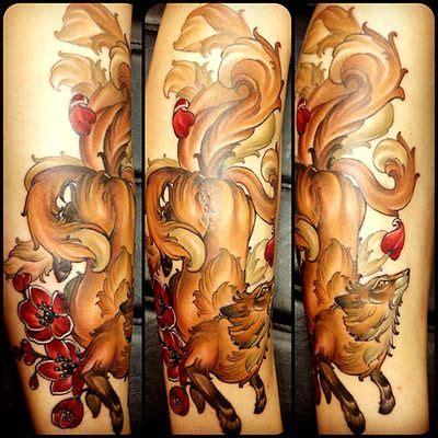 pin juubi biju de 10 colas on pinterest tatuaje zorro de varias colas tattoos pinterest