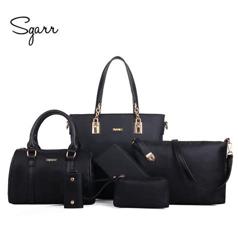 Fashion Bag Set 3in1 sgarr luxury handbag shoulder bags fashion 6 pieces sets composite bags large