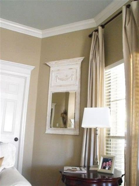 wall color relaxed khaki by sherwin williams and ceiling col for the home juxtapost