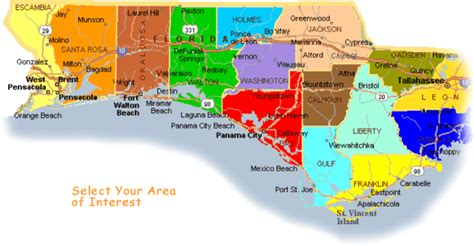 florida emerald coast map emerald coast pros site map