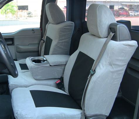 2008 ford f150 front seat covers 2004 2008 ford f150 xlt front and back custom fit seat