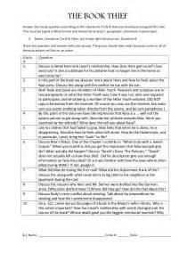 The Book Thief Essay Notes eng 83 r 72 the book thief literature circle