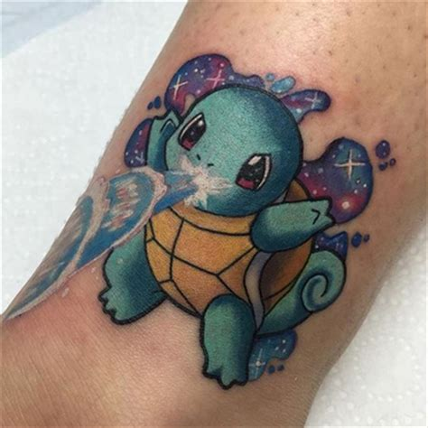 squirtle tattoo cool watercolor hummingbird design