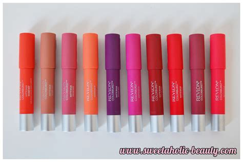 Lipstik Revlon Matte Colorburst revlon colorburst matte balms review swatches