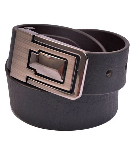 cow boy black leather belt buy at low price in