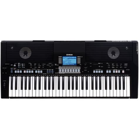 Keyboard Yamaha yamaha psr s550 keyboard black at gear4music