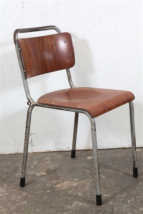 Antique School Chairs For Sale by Vintage School Chairs Ten Available For Sale At