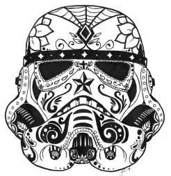 gallery gt stormtrooper helmet sugar skull
