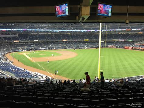 Section 205 Yankee Stadium by Yankee Stadium Section 208 New York Yankees Rateyourseats