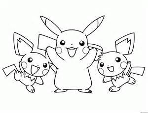 dibujos para colorear pokemon pikachu imagui
