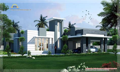 contemporary home plans with photos modern contemporary home design 4500 sq ft kerala home design and floor plans