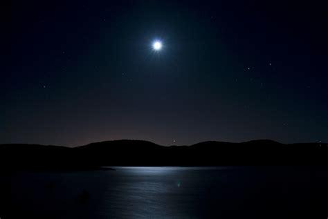 imagenes surrealistas de la noche starry night embalse de entrepe 241 as con luna llena kaxiii