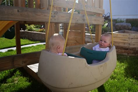 double baby swing the lovely residence july 2014