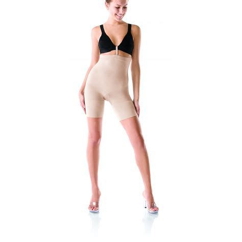 can i wear a body shaper after c section spanx slim cognito mid thigh body shaper