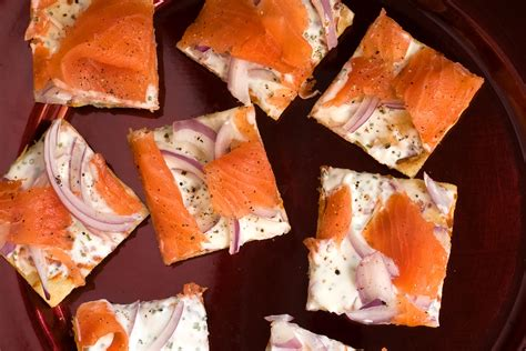 cold recipes lox flatbread cold appetizers for new year s eve