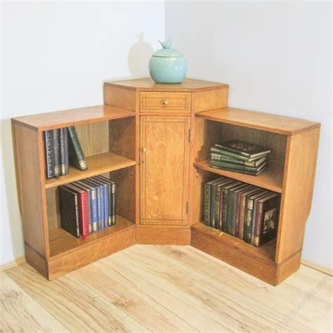 heals oak deco corner bookcase antiques atlas