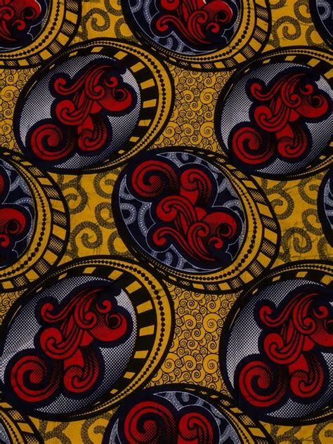 gold african pattern african fabric designs real wax gold red pattern ankara