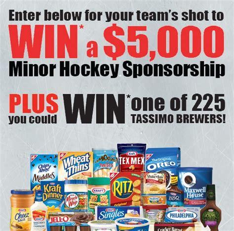 contest canada 2013 kraft canada hockey contest