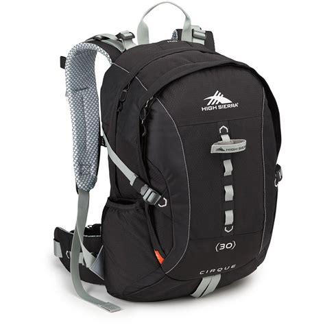 Visval Soka Black Vintage Ransel Backpack high cirque 30 day pack black silver 58440 3056 b h