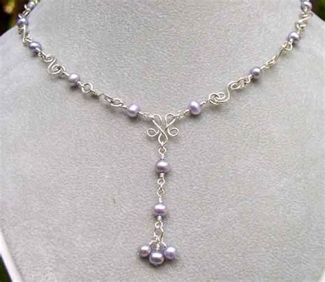 Handmade Pearl Necklaces - simple handmade freshwater pearl jewelry trendy mods