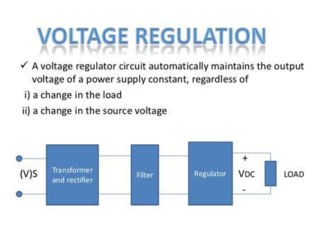 voltage regulator using zener diode ppt zener diode ppt