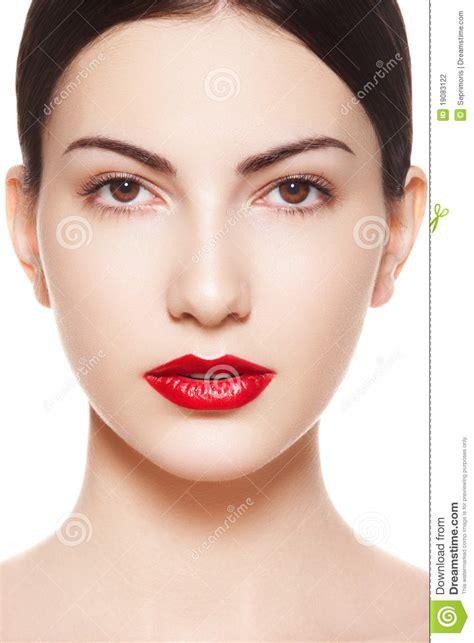 xomo sombrear la cara de una mujer la cara espa 241 ola de la pureza de la mujer con los labios