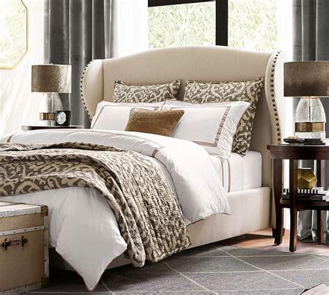 bedroom sheet sets banded 400 thread count sheet set pottery barn
