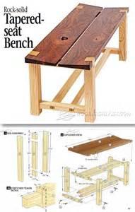 patio furniture plans pdf 25 best outdoor furniture plans ideas on