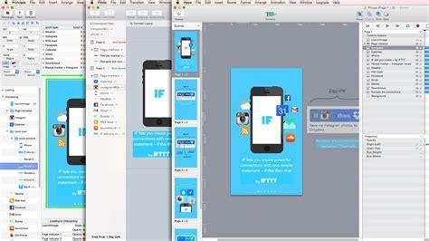 app design tools for mac three more app prototyping tools compared principle