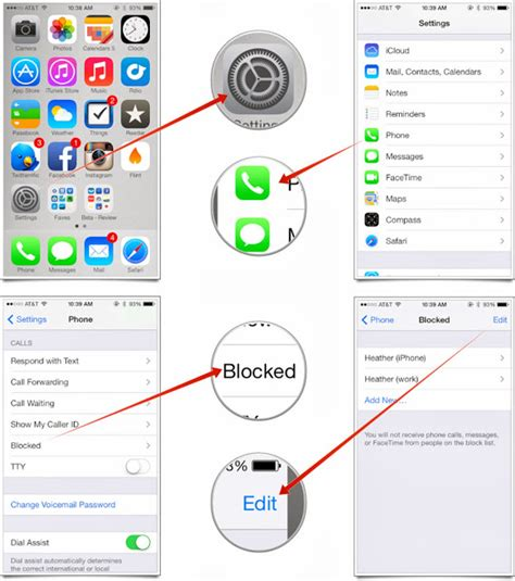 want to remove someone from your block list in ios 7 here