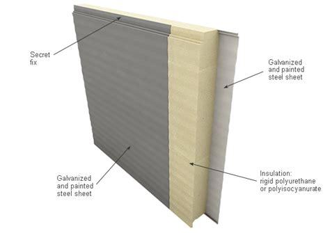 facade secret room sandwich panels
