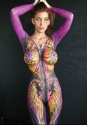 new body painting hot body painting