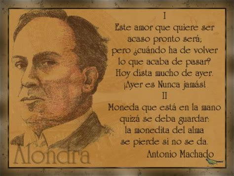 poemas de antonio machado cortos alondra poema de antonio machado modernismo y