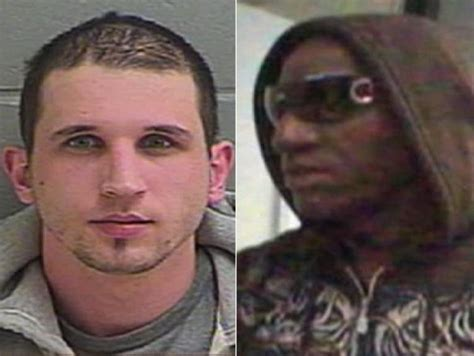 white african american white robber nabbed wearing african american hollywood