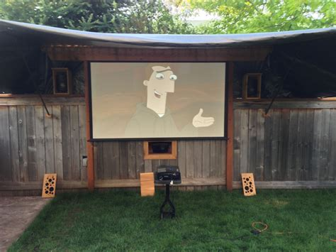 backyard theater backyard theater speakers outdoor furniture design and ideas