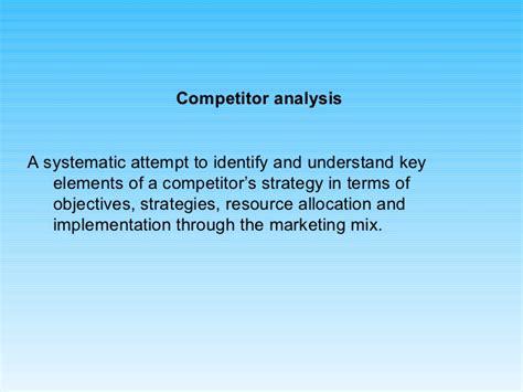 Mba Strategic Marketing by Strategic Marketing Ppt Mba