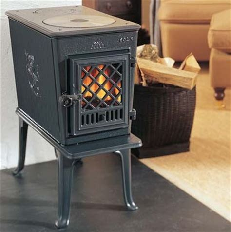 jotul f602 wood burning stove clean burn glass door from